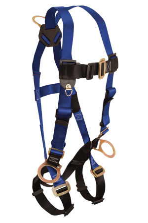 Harnesses And Belts - FallTech 7017 Contractor 3 D-Rings Full Body Harness, Free Shipping