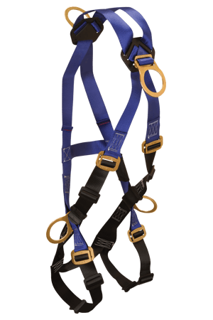 Harnesses And Belts - Falltech Contractor 7019B Full Body Harness, 4-D-Rings Free Shipping