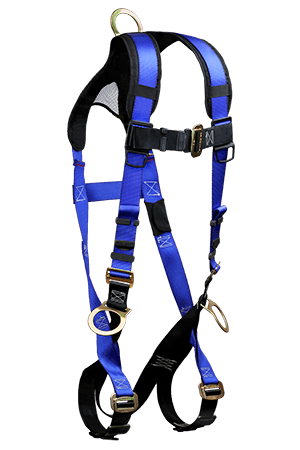 Harnesses And Belts - Falltech Contractor+ Plus 7017B, Full Body Harness, 3D-Rings, Free Shipping