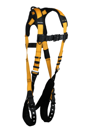 Harnesses And Belts - Falltech Journeyman Flex 7021B Aluminum Full Body Harness 1-D-Ring