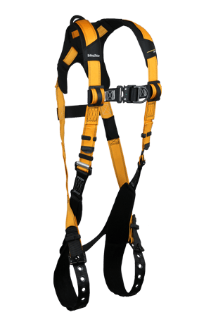 Harnesses And Belts - FallTech Journeyman Flex 7021BFD Aluminum Full Body Climbing Harness, 2 D-Rings