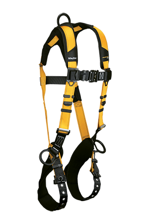 Harnesses And Belts - Falltech Journeyman Flex 7023b, Aluminum Full Body Harness, 3 D-Rings Free Shipping