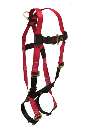 Harnesses And Belts - Falltech Tradesman 7006 Full Body Harness, 1 D-Ring, Free Shipping