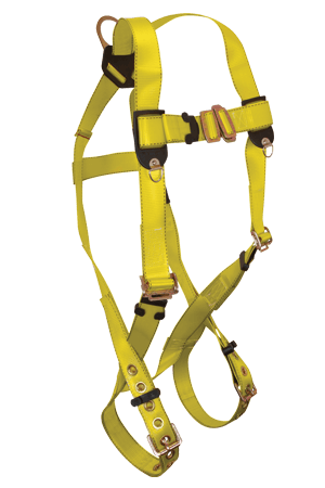 Harnesses And Belts - Falltech Tradesman 7008PC, Full Body Harness, 1 D-Ring Free Shipping