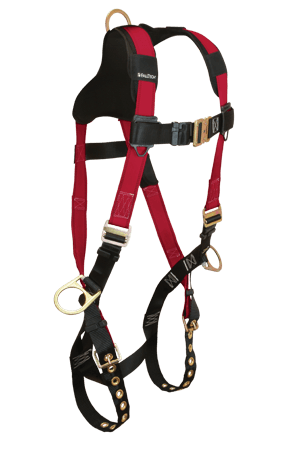 Harnesses And Belts - Falltech Tradesman+ Plus 7010b, Full Body Harness, 3 D-Rings Free Shipping