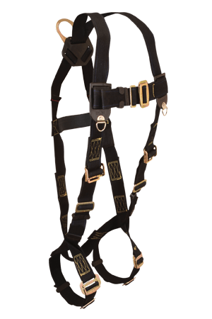 Harnesses And Belts - Falltech Weldtech 7037, Full Body Harness, 1 D-Ring
