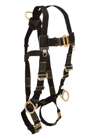 Harnesses And Belts - FallTech WeldTech 7039, Nomex/Kevlar Blend Full Body Harness, 3 D-Rings
