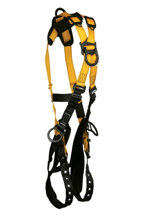 Harnesses And Belts - Full Body Harness, FallTech Journeyman Flex 7029B , Aluminum