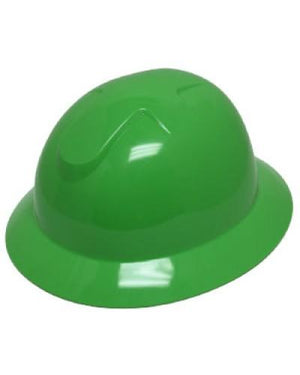 Head/Face Protection - DuraShell Slotted Full Brim Hard Hats 20EA, Free Shipping