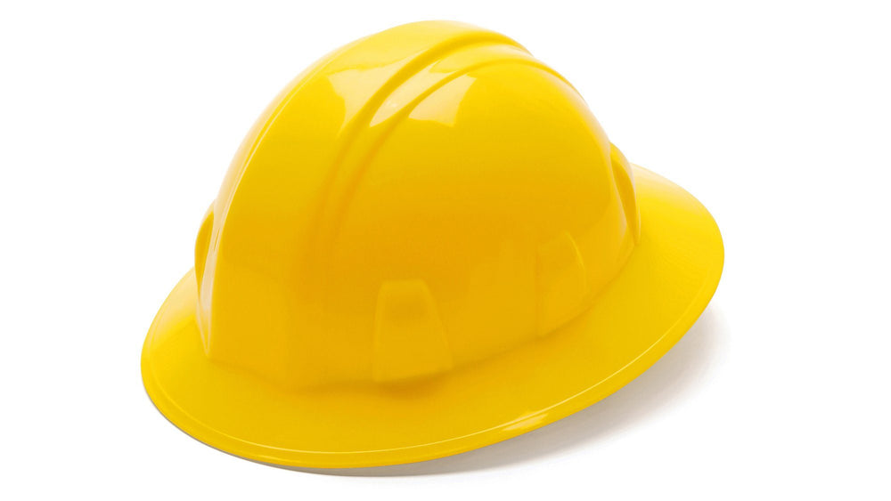 Pyramex SL Series Full Brim Hard Hats 12EA, Free Shipping