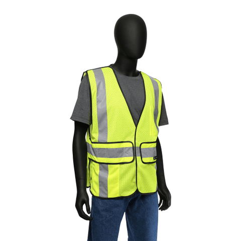 Hi-Viz - Class 2 Break Away Hi-Viz Safety Vest, West Chester 47201