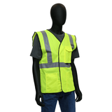 Hi-Viz - Safety Vest, 47204/47203, Class 2, Lime/Orange