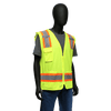Hi-Viz - West Chester 47216 Class 2, Two Tone Surveyor Safety Vest, Zipper