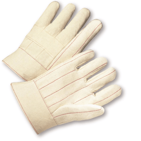 Hotmill Gloves - West Chester B02SNI, Band Top Hot Mill Gloves, 12 Pair