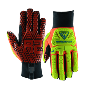 Impact Gloves - Impact Glove, West Chester 87010 R2 Rig Ace, Neoprene Cuff, 6 Pair