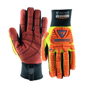Impact Gloves - Impact Gloves, Oil & Gas, 87020, Rigcat 2, 6 Pair, Free Shipping