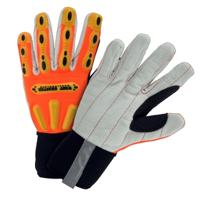 Impact Gloves - On Sale! Impact Glove, West Chester 86801 R2 Winter Corded Palm, 6 Pair