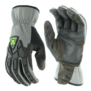 Impact Gloves - West Chester 89305GY, Extreme Work Strike ProteX, Impact Gloves, Pair