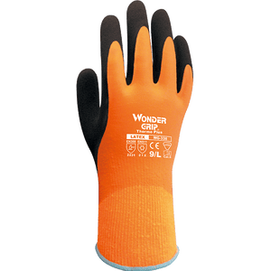 Latex Coated Gloves - Wonder Grip WG-338 Thermo Plus Insulated Water Resistant Glove 12 Pairs