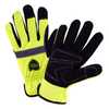 Mechanics Gloves - Mechanics Glove, 96551, Hi-Vis Pro Series, Reflective, 3pr