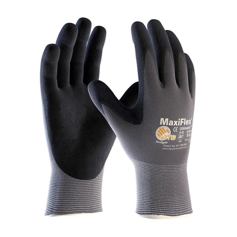 Nitrile Coated Gloves - G-Tek TM MaxiFlex 34-874 Seamless Knit Nylon Gloves