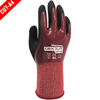 Nitrile Coated Gloves - Wonder Grip Dexcut WG-718 Cut Resistant Nitrile Coated Safety Gloves 12PK