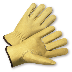 Pigskin Drivers Gloves - West Chester 9940k, Premium Pigskin Driver Glove, Keystone Thumb, 12 Pair