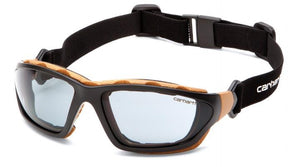 Safety Glasses - Carhartt Carthage Anti-Fog Safety Glasses With Interchangeable Temples/Strap 12 Pair