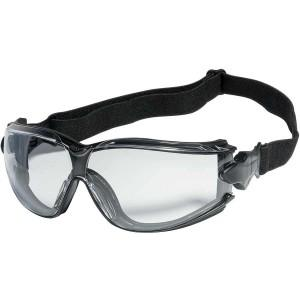 Safety Glasses - INOX Challenger II 1778 Series Safety Glasses, Adjustable Headband, 12 Pair