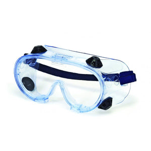 Safety Glasses - INOX Pulsar 1790 Series Indirect Vented Safety Goggles, 12 Pair