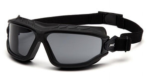 Safety Glasses - Pyramex Torser Safety Glasses/Goggle With Strap 12 Pair