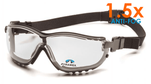 Safety Glasses - Pyramex V2G Readers Anti-Fog Safety Goggles 12 Pair