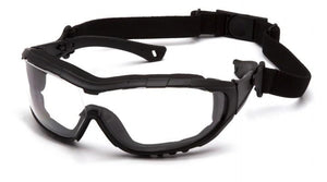 Safety Glasses - Pyramex V3T Anti-Fog Safety Glasses With Adjustable Strap 12 Pair