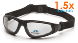 Safety Glasses - Pyramex XSG Anti-Fog Reader Safety Glasses With Strap 12 Pair