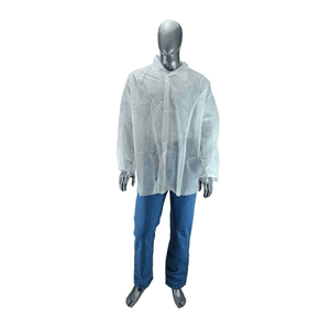 Shirts - West Chester 3515 SBP White Shirt Snap Front - Standard Weight