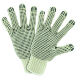 String Knit Gloves - West Chester 708SKBS Mens String Knit PVC Dotted 2 Sides Glove 12 Pair
