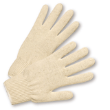 String Knit Gloves - West Chester K7100S, Cotton/Polyester String Knit Gloves, Large, 12 Pair