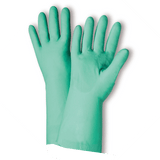 Unsupported Gloves - West Chester 33413 11 Mil Unlined Green Nitrile, Bulk Packaged - Economy