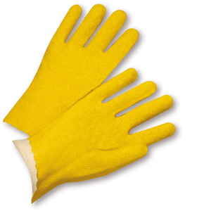 Unsupported Gloves - West Chester 3962 Vinyl Coated Jersey Lined Glove