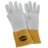 Welders Gloves - Welding Gloves, 6130, Deerskin, TIG, Kevlar Stitching, 6 Pair