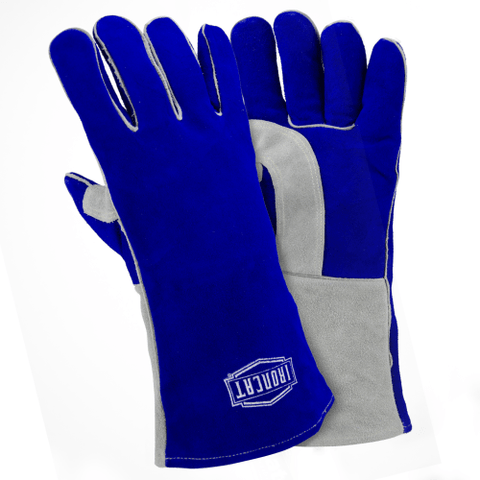 Welders Gloves - Welding Gloves, 9051, Insulated, Double Reinforced Thumb, 12 Pair