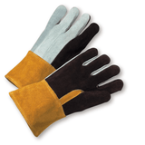 Welders Gloves - West Chester 2086GLF Heavy Foundry Glove, Reinforced Thumb, Kevlar Sewn, 12 Pair