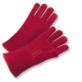 Welders Gloves - West Chester-9400 Russet Welders Reinforced Thumb Kevlar Sewn 12PK