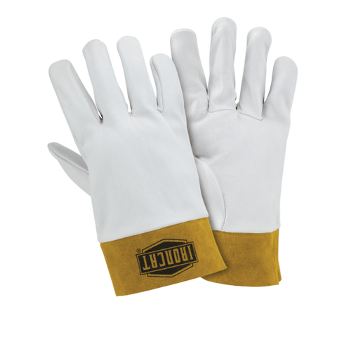 Welders Gloves - West Chester IronCat 6140 Kidskin TIG Welding Glove, Kevlar Sewn,