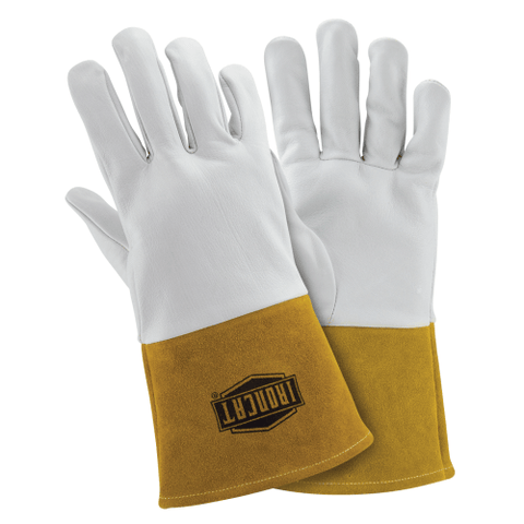 Welders Gloves - West Chester IronCat 6141 Kidskin TIG Welding Glove, Kevlar Sewn 6 Pair