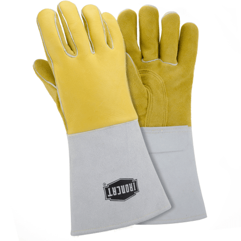 "Welders Gloves - West Chester IronCat 9060, 14"" Elk Welding Gloves, 6 Pair"