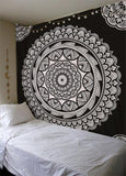 Printed Tapestry Bohemia Mandala Tapestry Wall Hanging Wall Decoration Hippie Tapestry Beach Yoga Mat