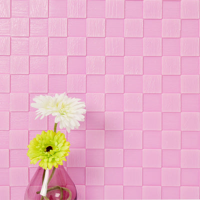 3D Mosaic DIY Wall Panels PE Foam Self Adhesive for Living Room Home ...