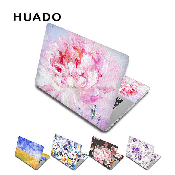 Flower Laptop skin decal notebook sticker 13 15 15.6 inch laptop skin for lenovo/xiaomi air /macbook/asus 17