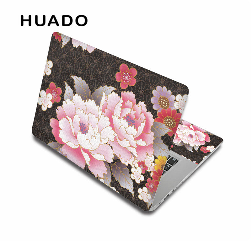 Flower Laptop Skin Decal Notebook Sticker 13 15 15 6 Inch Laptop
